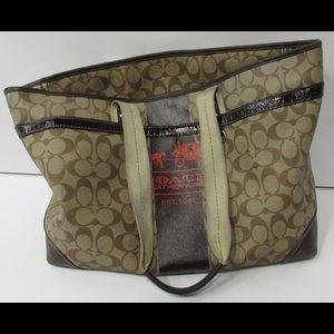 Coach Brown Baby Bag